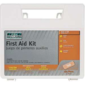 3M Tekk Construction/Industrial First Aid Kit, 118-Piece
