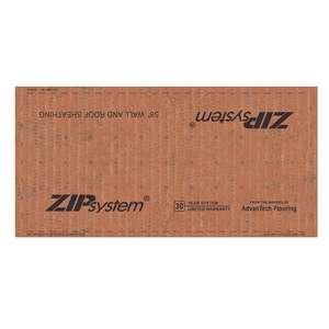 Zip System 5 8 X 4 X 8 Osb Roof Wall Sheathing W Moisture Barrier Osb58zip Build With Bmc