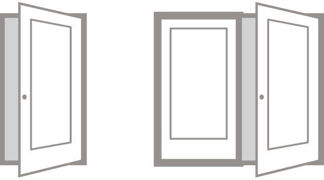 Interior Doors, Door Handling