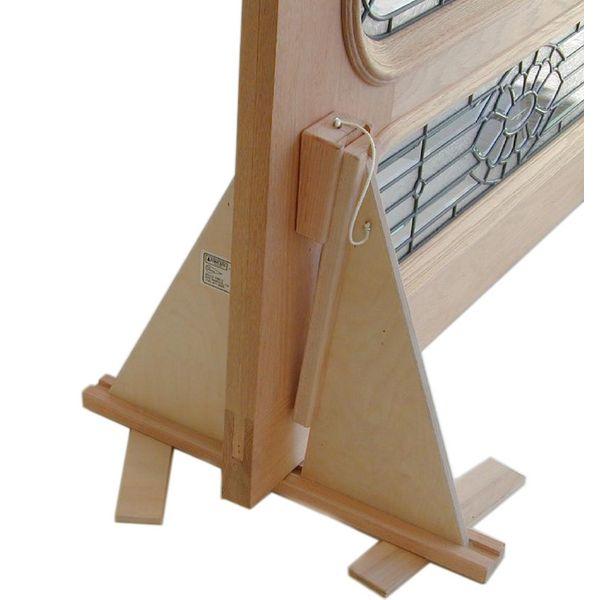 Wooden Wedge House Door Holding Holder Stand