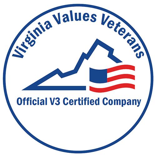 V3 Certified Employer Virginia Logo