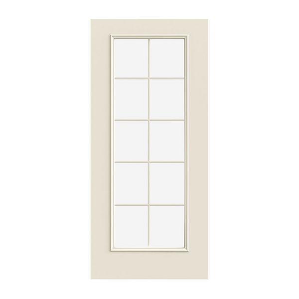 Prehung Exterior Smooth-Pro 10-Lite Door