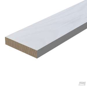 2 X 8 X 16 Combed Primed Spf Fascia Board Grooved S2816prgrfac Build With Bmc