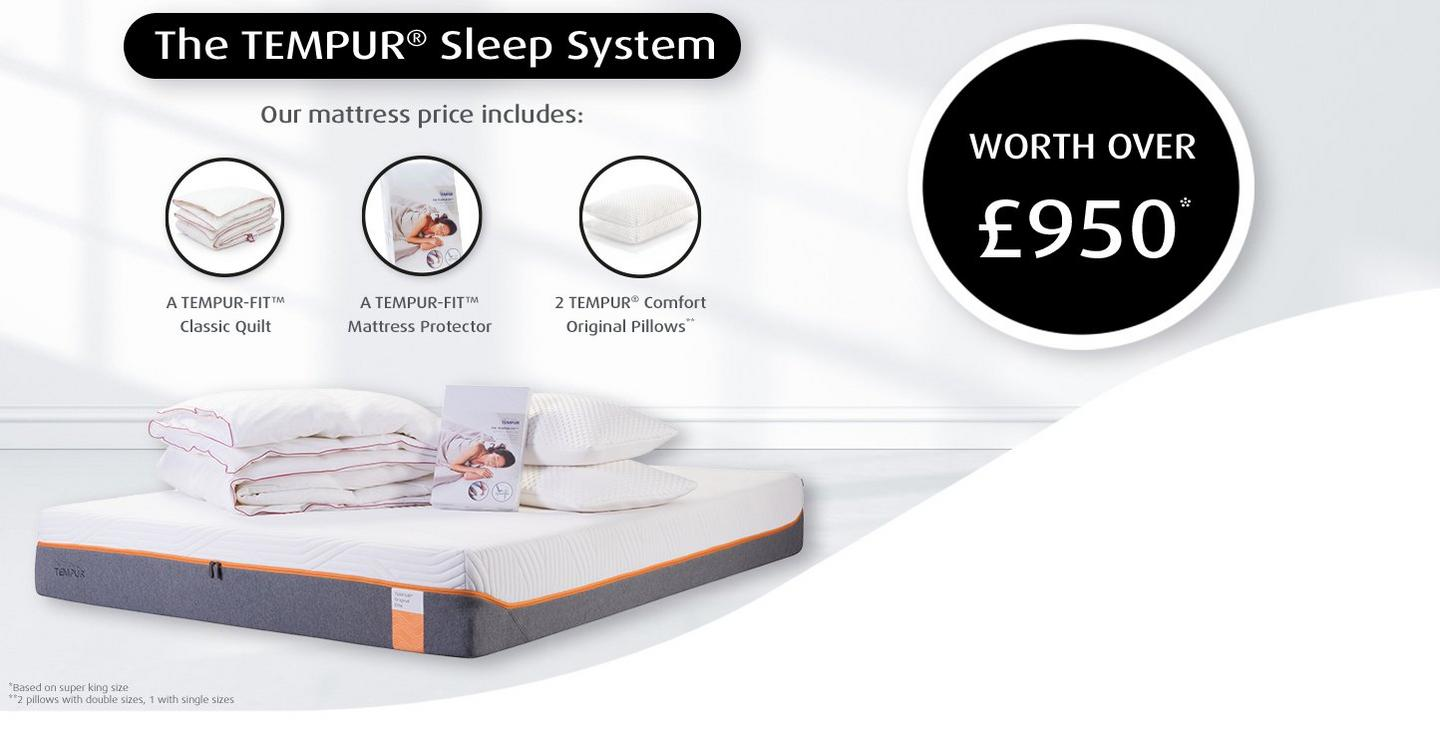 e72251d897 CHANGE THE WAY YOU SLEEP WITH OUR UNIQUE SLEEP SYSTEM FOR THE ULTIMATE  TEMPUR® EXPERIENCE *T&Cs apply View more