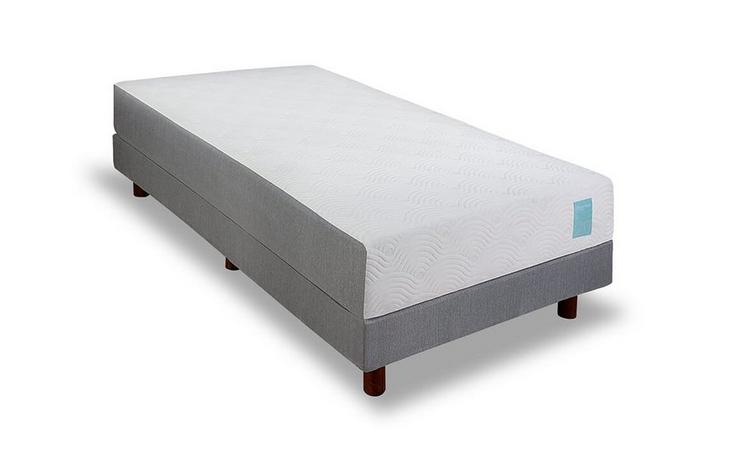 Micro-Tech™ boxspring vlak - 90 x 200 cm - Light Aqua