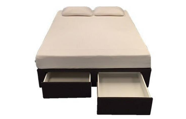 TEMPUR Width-End Two-Drawer Queen Bed