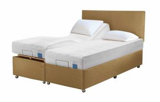 TEMPUR® Ardennes Adjustable Massage Divan (Long Double)