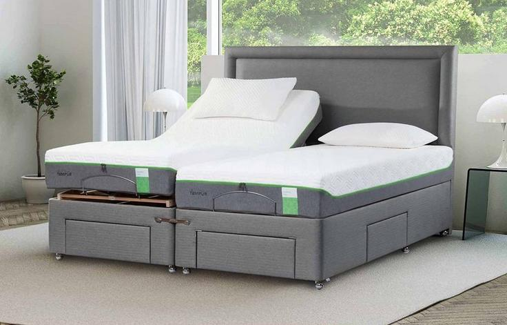 TEMPUR® Moulton Adjustable Massage Divan
