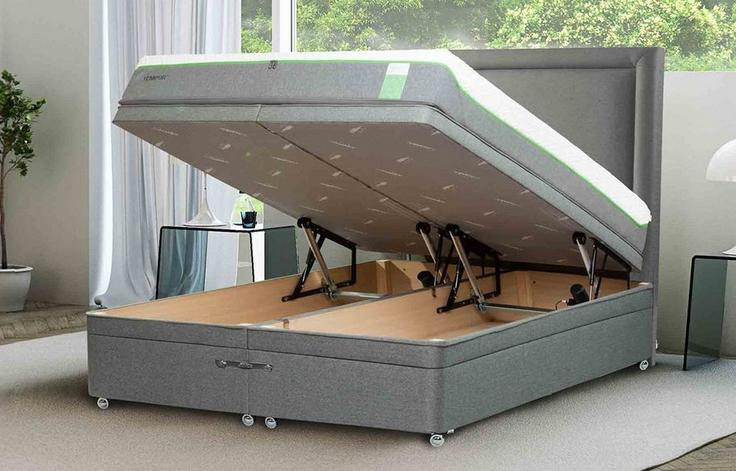 Superb Tempur Moulton Electric Ottoman Bed Tempur Uk Gmtry Best Dining Table And Chair Ideas Images Gmtryco