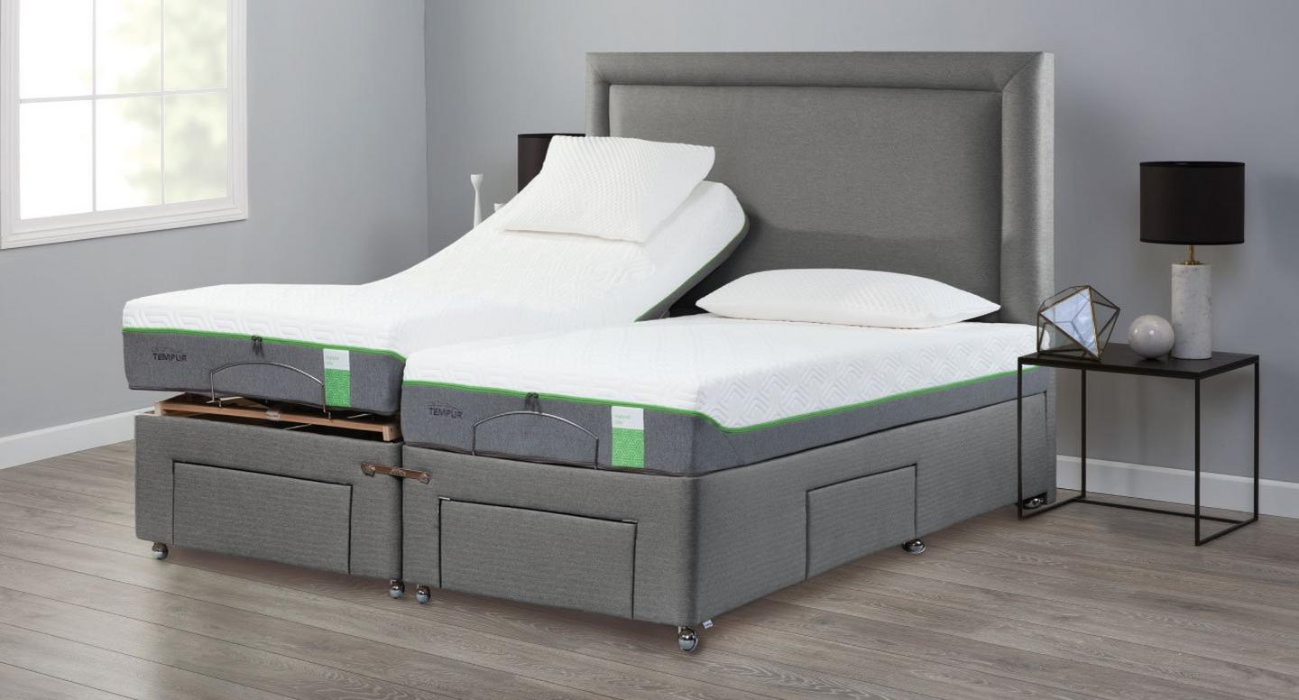 Tempur Divan bed base drawer storage