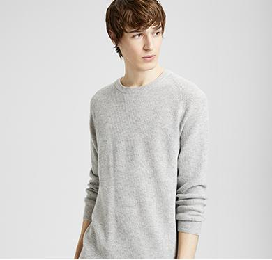 Mens Luxe Cashmere