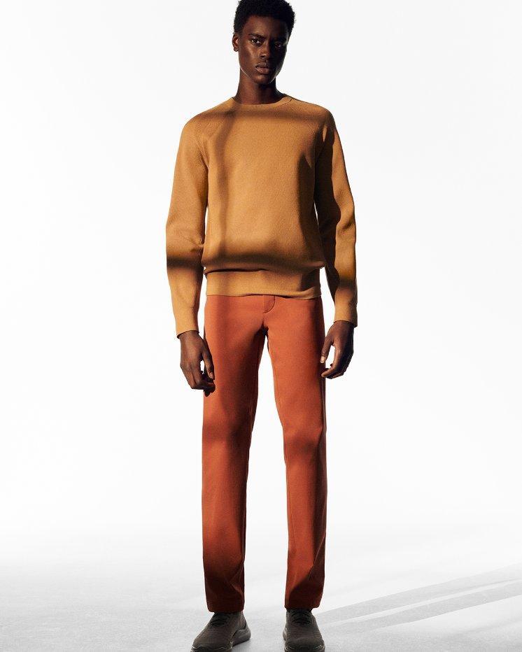Crewneck Sweater in Fine Bilen