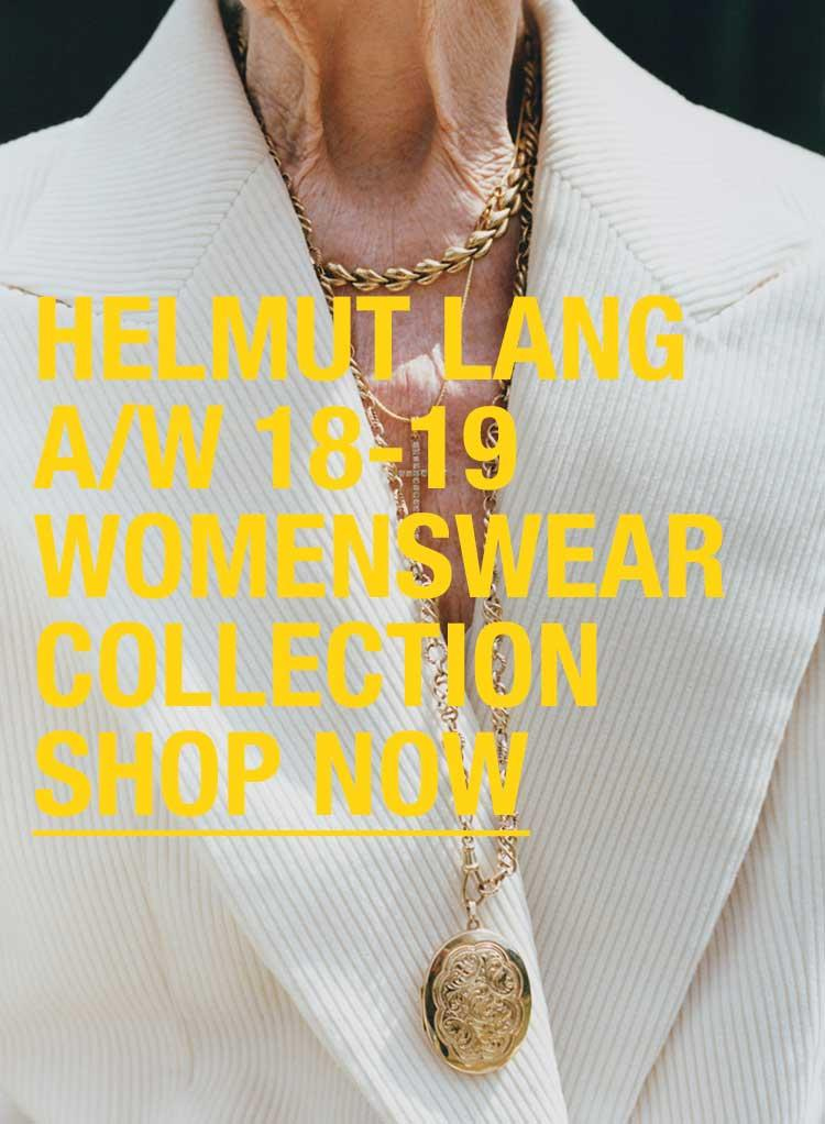 Helmut Lang Womenswear Autumn/Winter 18-19
