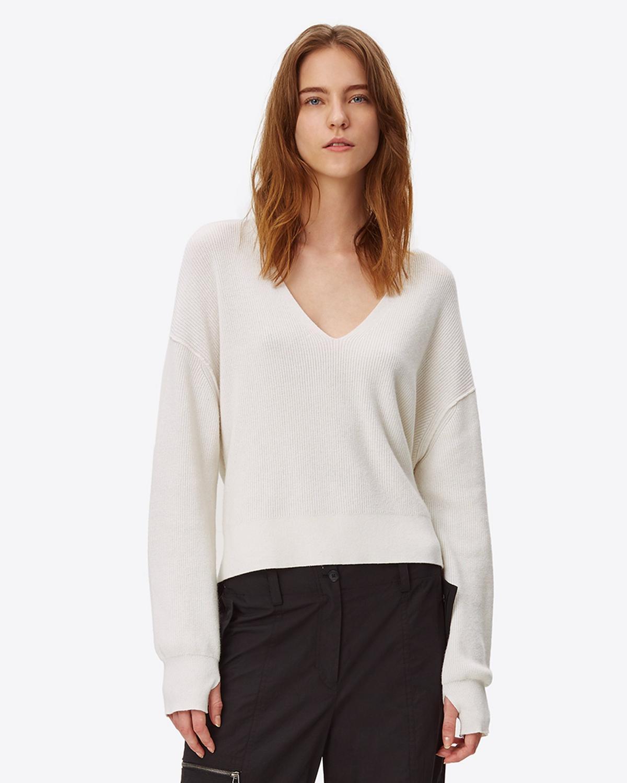 7f9d133fa74c Helmut Lang Strap V-Neck Sweater