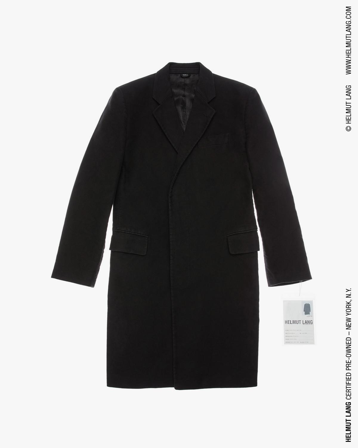 Classic Notch Lapel Coat