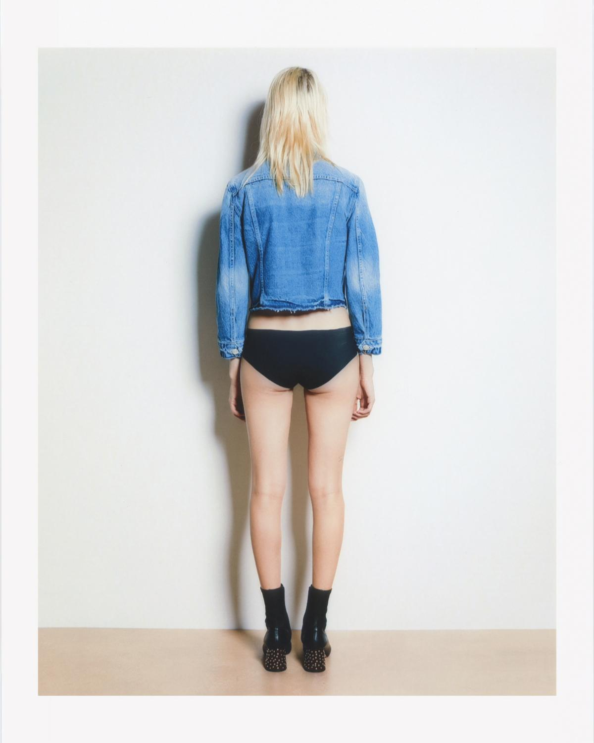 SHRUNKEN DENIM JACKET