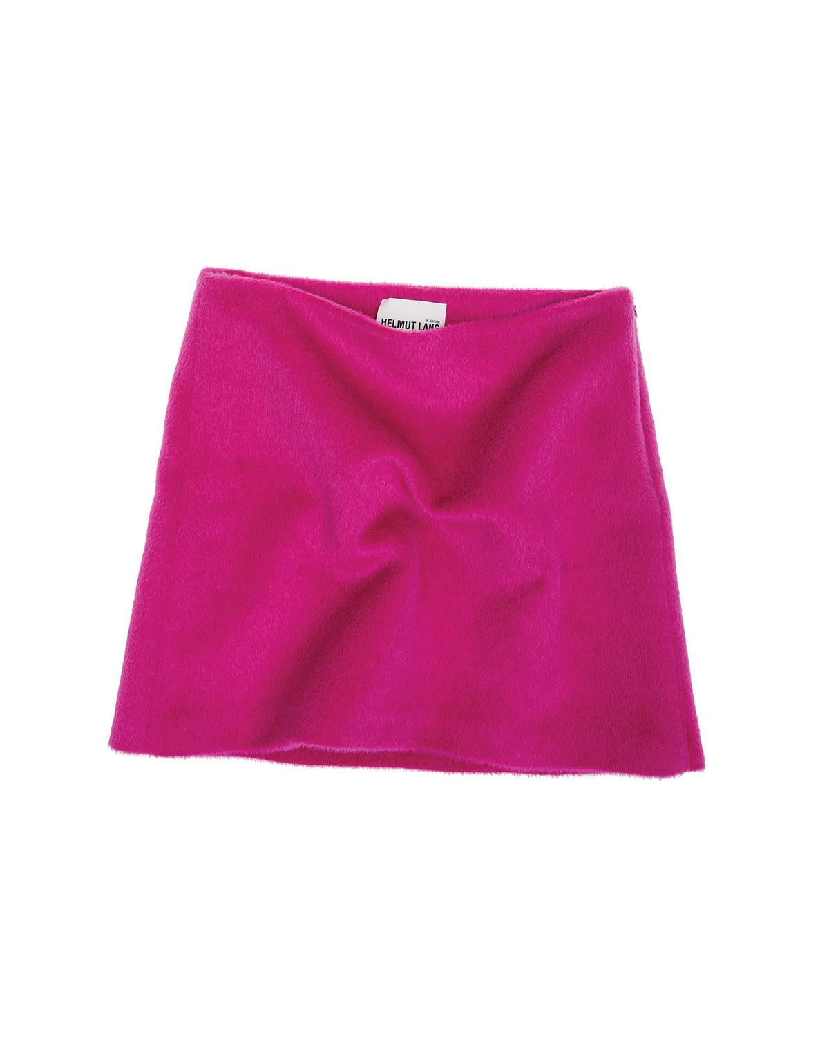 BRUSHED MAGENTA SKIRT