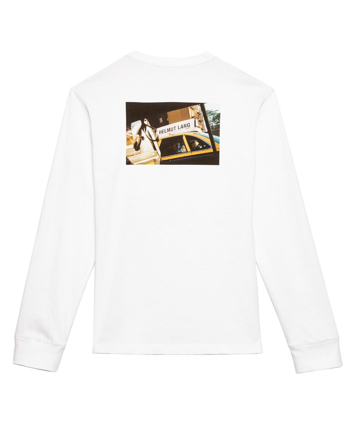 © HELMUT LANG LONG SLEEVE TAXI T-SHIRT
