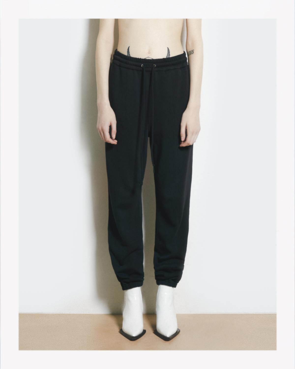 SEAMED SWEATPANTS