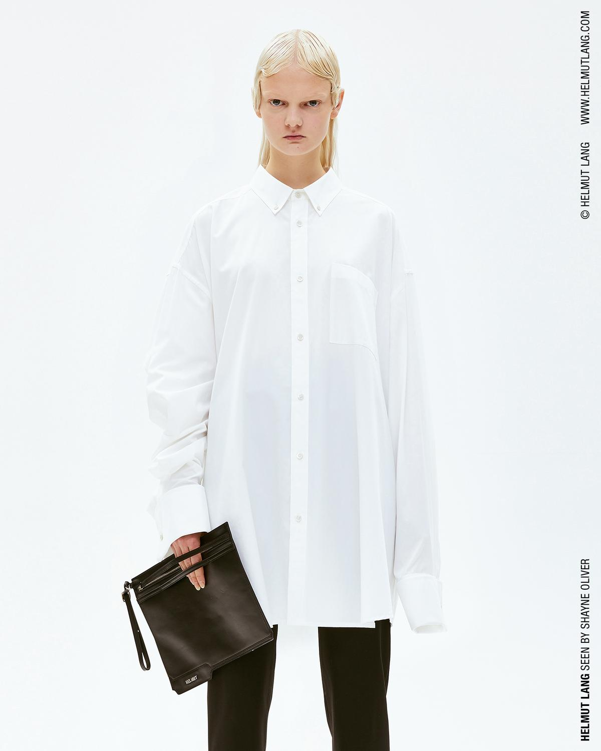Oversized shirt Helmut Lang Hot Sale Supply Online QkVRash