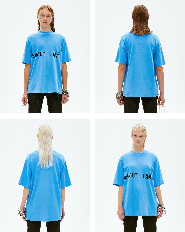 5dc26f92 Helmut Lang Campaign Print T-shirt | Official site