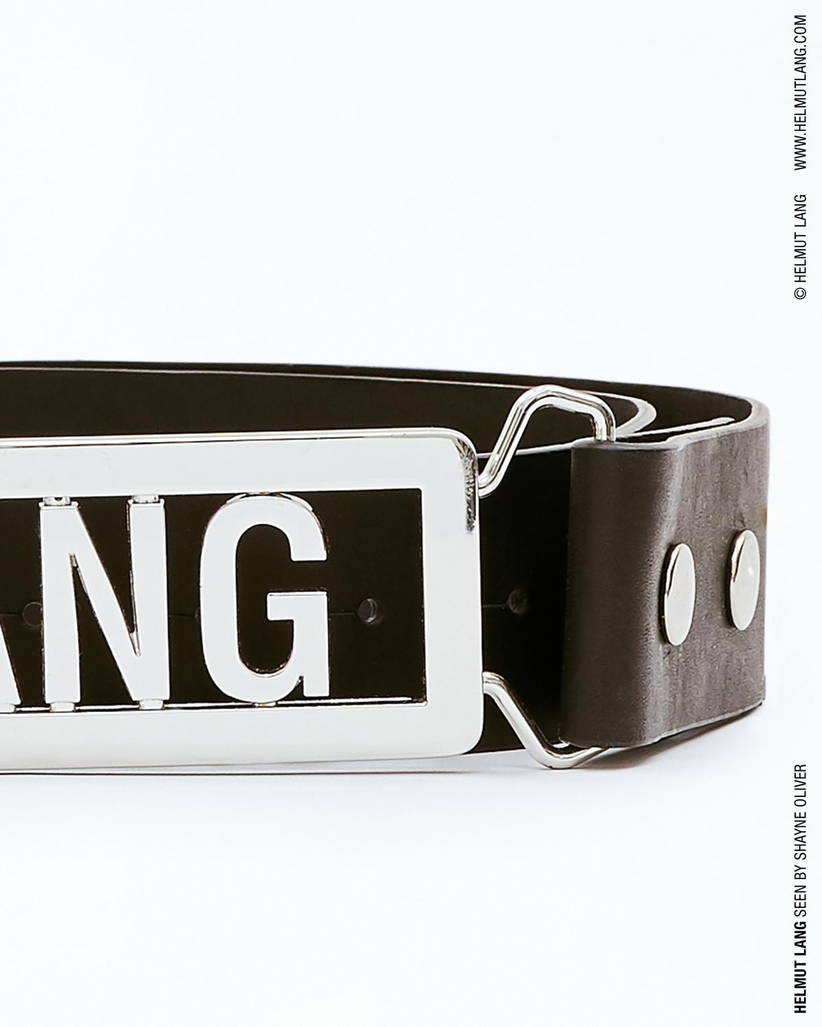 LANG NAME PLATE BELT