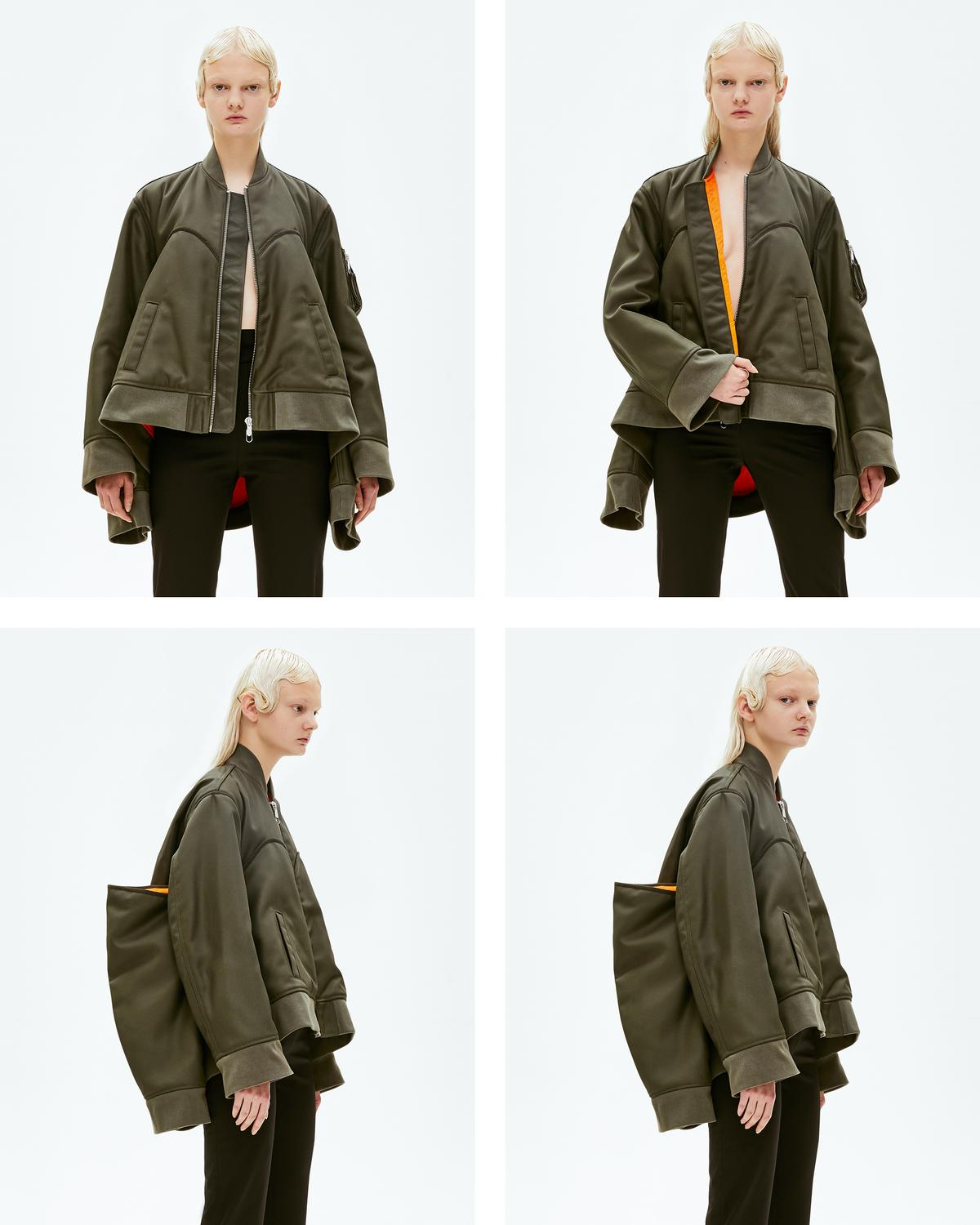 FOUR SLEEVED BOMBER JACKET