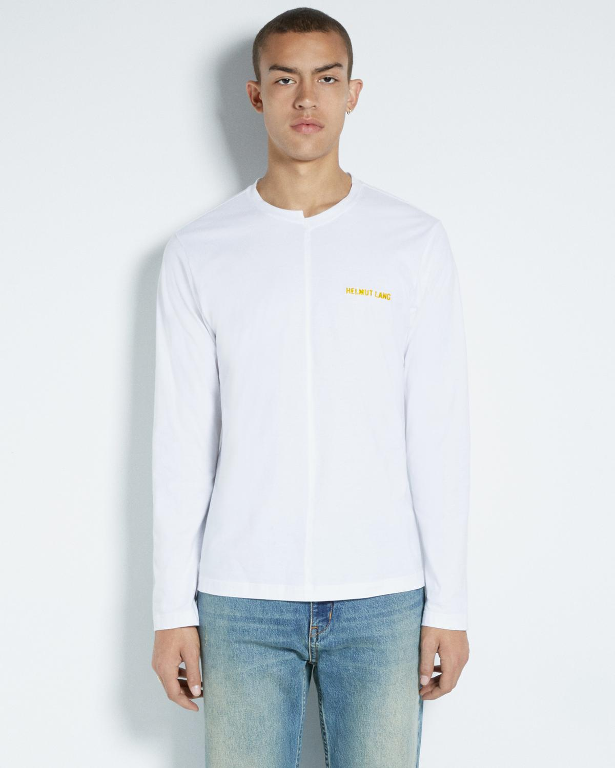 CUT NECK LONG SLEEVE
