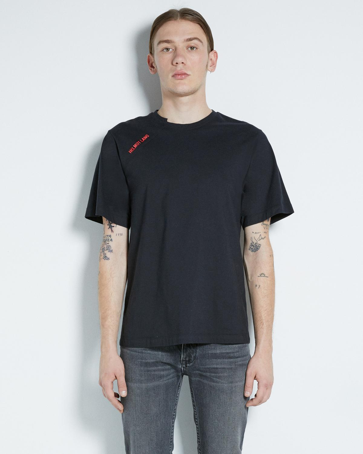 CUT NECK T-SHIRT