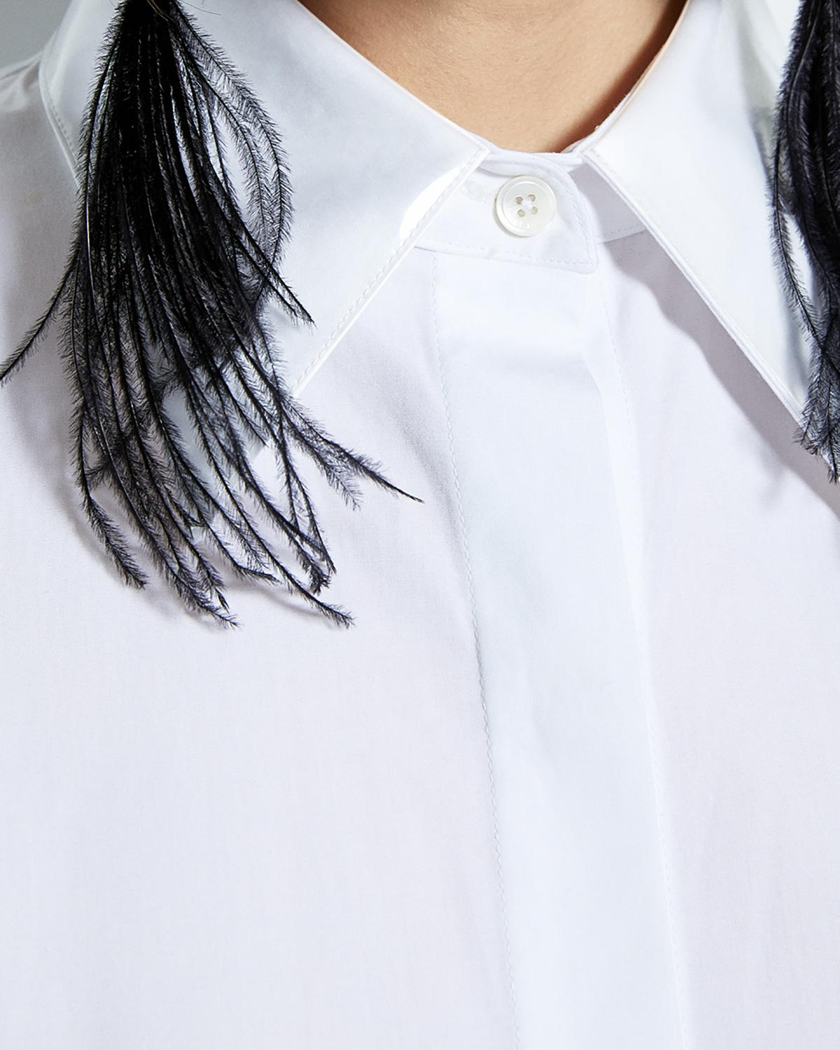PLASTIC COLLAR SHIRT