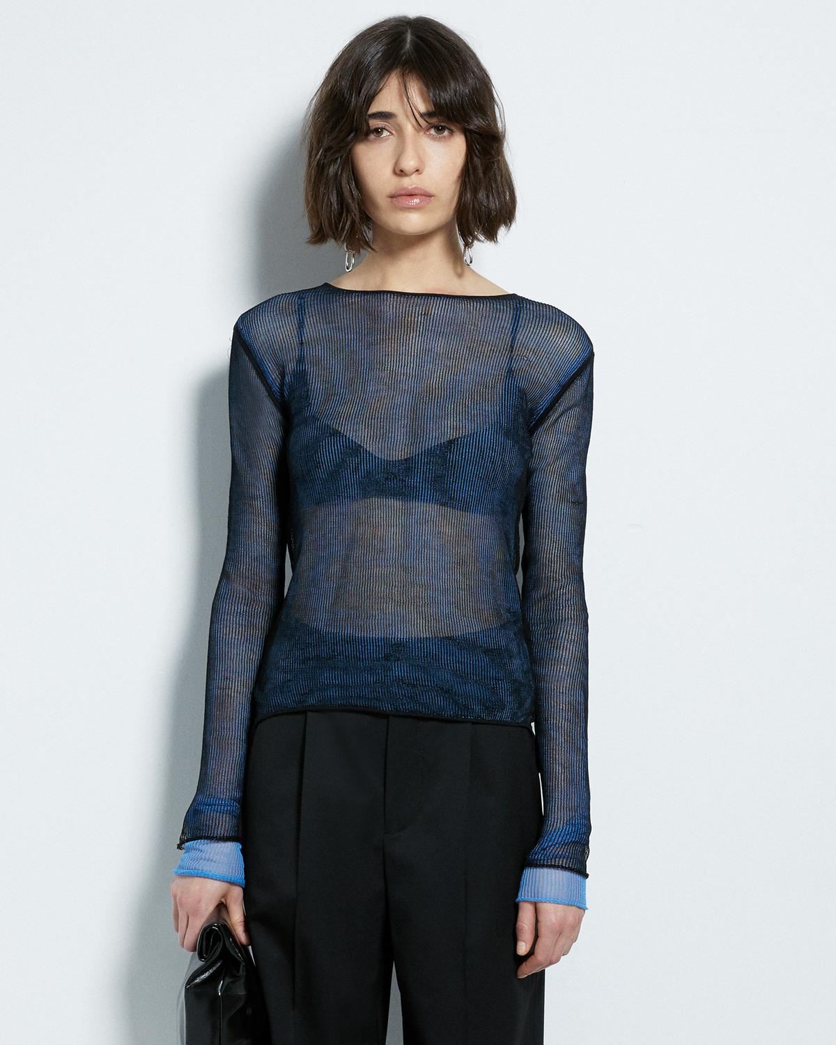 SHEER LAYER LONG SLEEVE