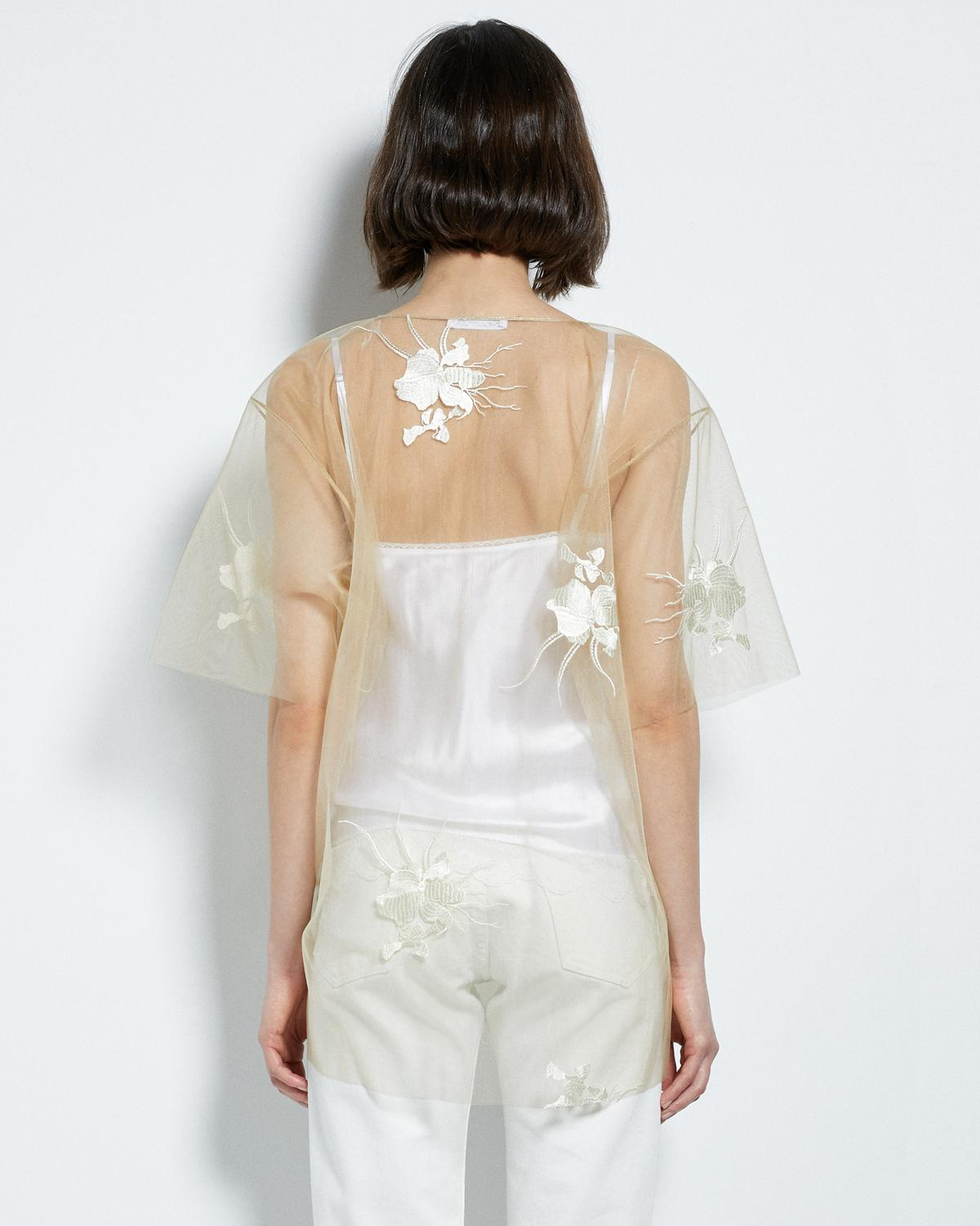 ORCHID EMBROIDERY TOP