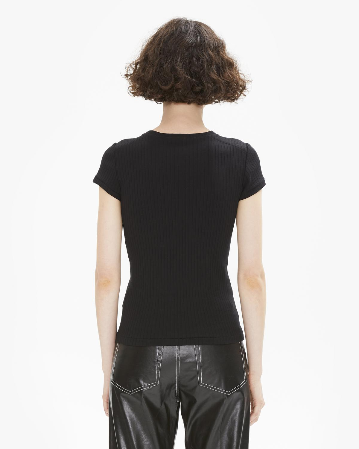 63993a9a1 Helmut Lang WIDE RIB BABY TEE