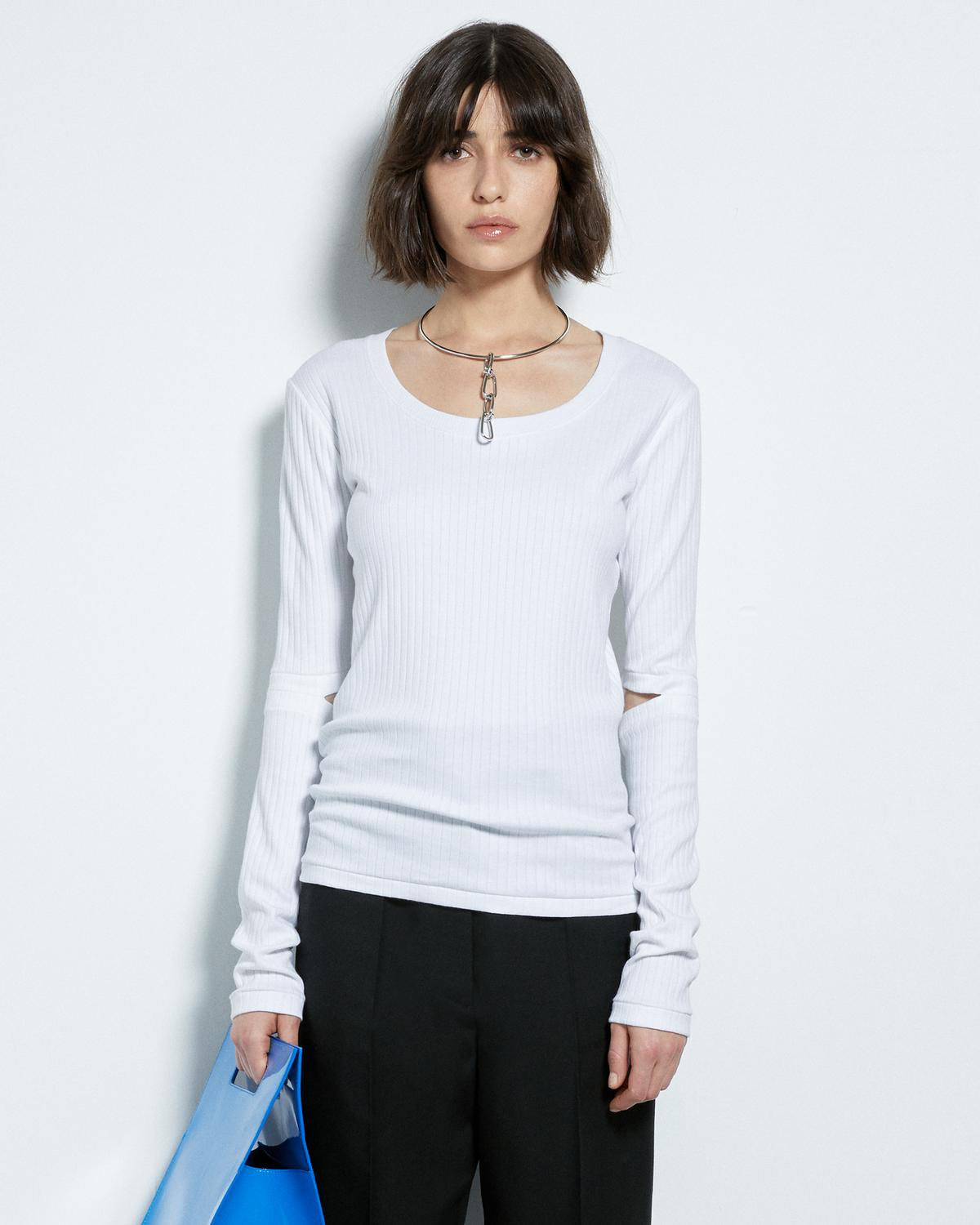 WIDE RIB LONG SLEEVE