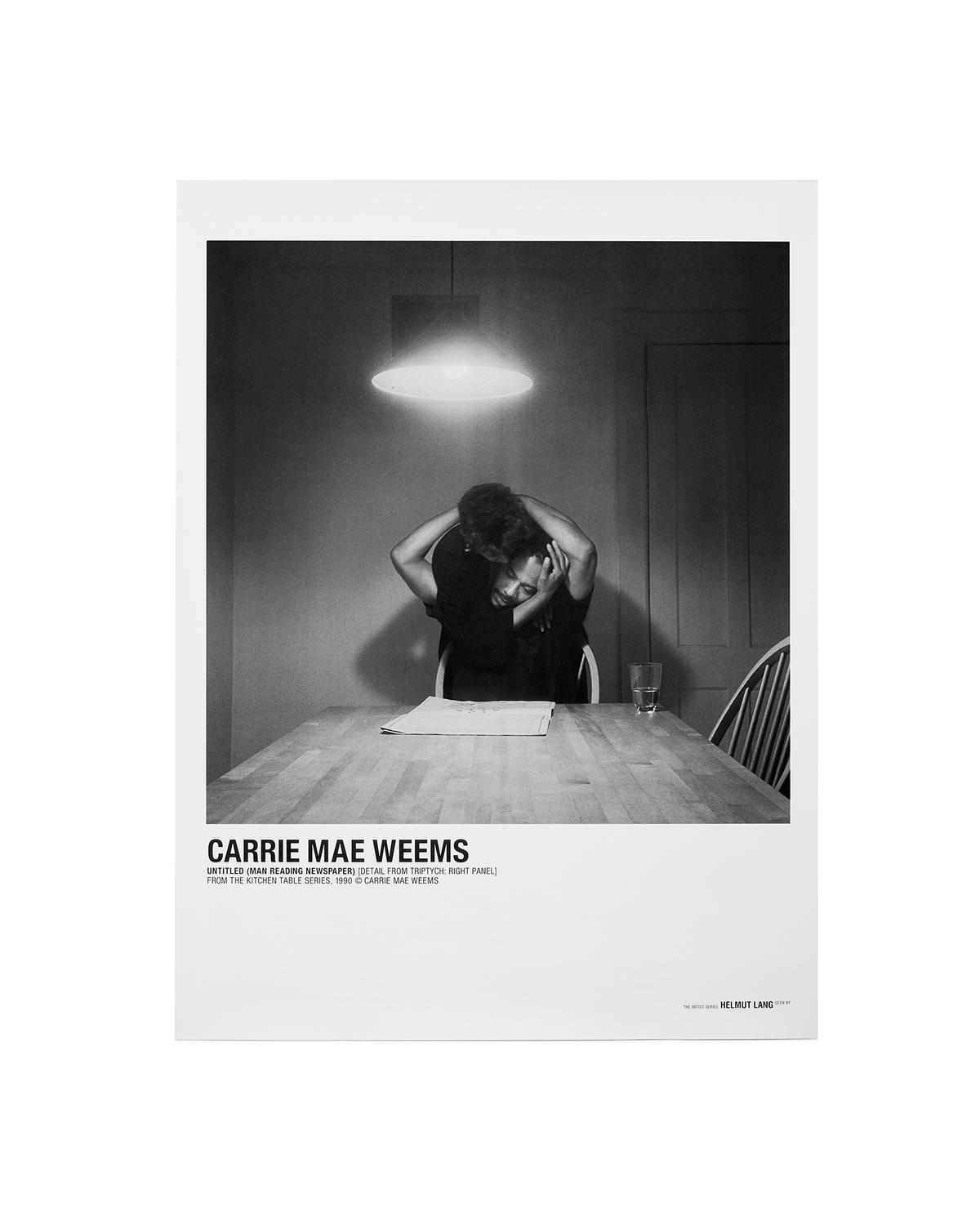 CARRIE MAE WEEMS NEWSPAPER POSTER