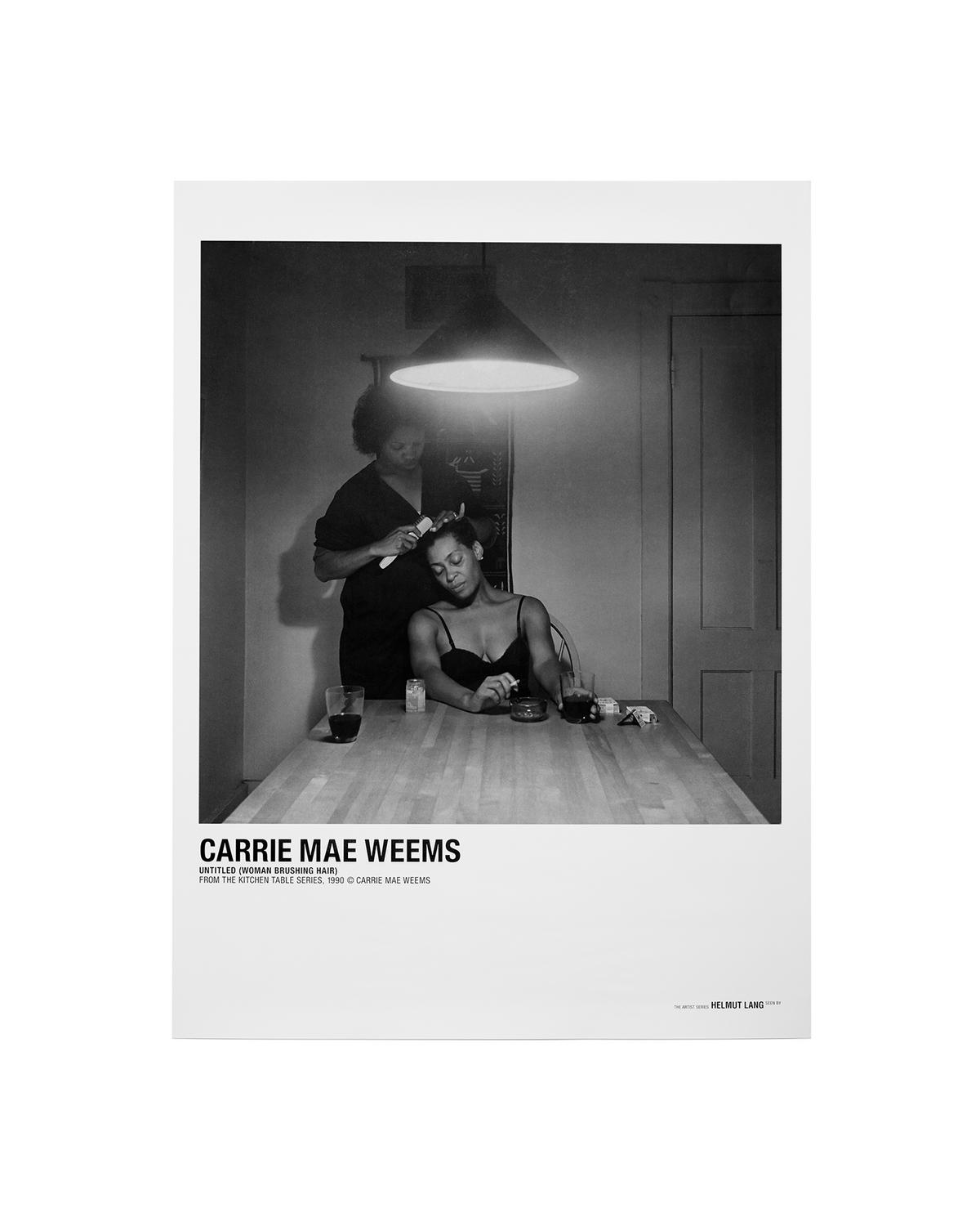 Carrie Mae Weems Brushing Hair Poster