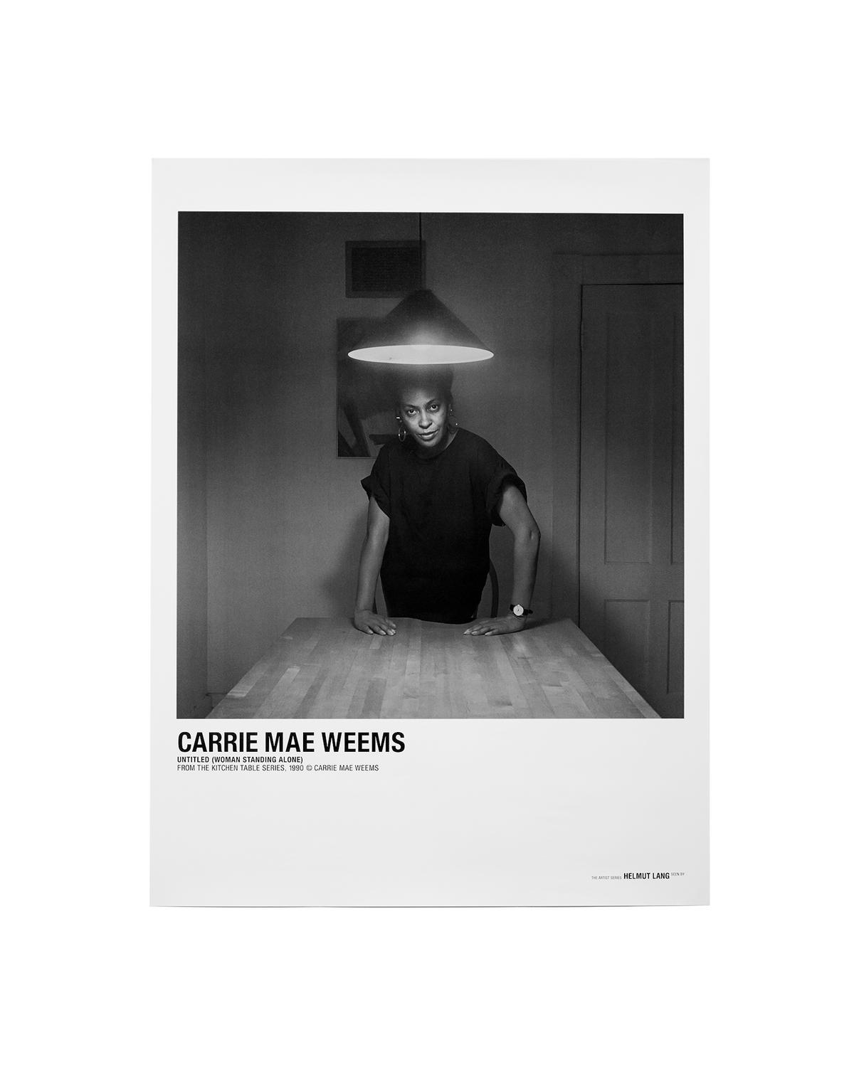 CARRIE MAE WEEMS STANDING ALONE POSTER