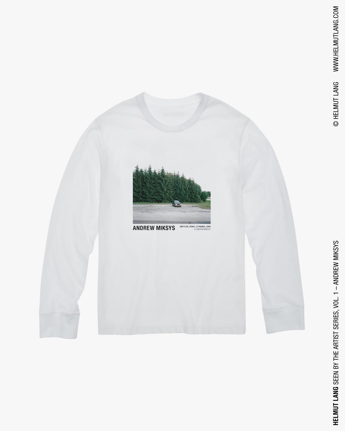 ANDREW MIKSYS PARKING LOT LONG SLEEVE T-SHIRT