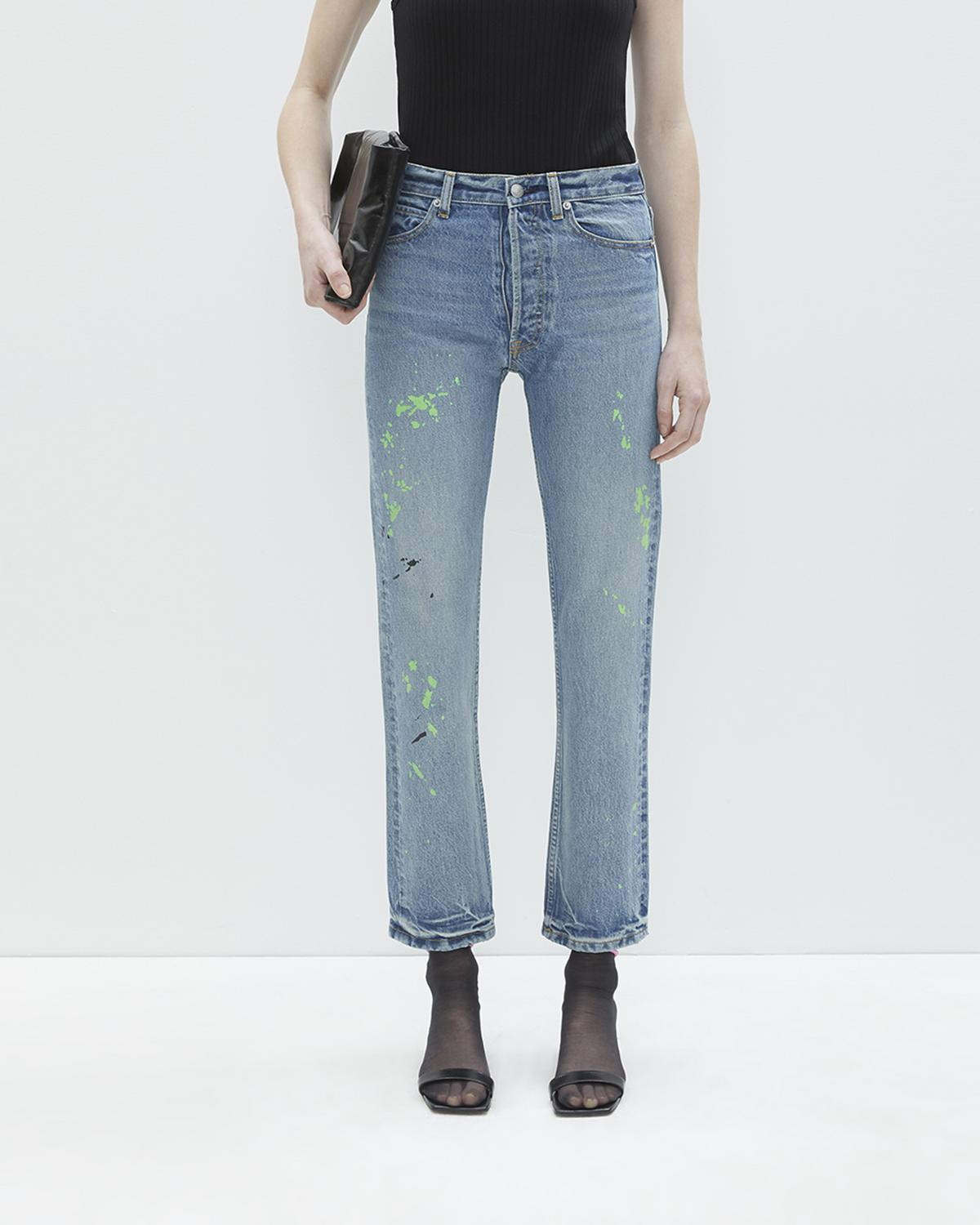 NEW CROP STRAIGHT LEG DENIM