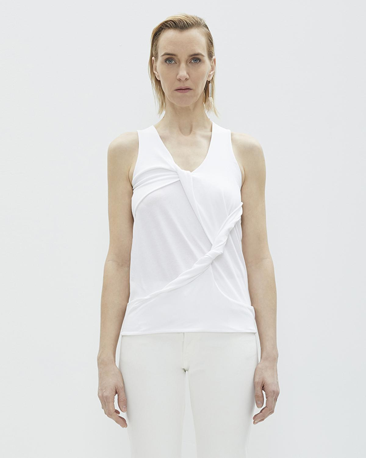Twist Drape Tank Top