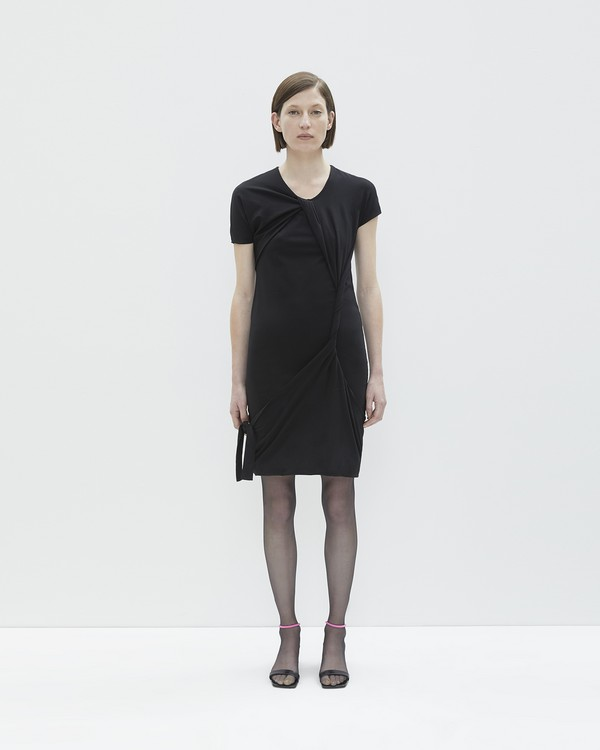 Cheap Clearance Store Helmut Lang knot silk dress Designer For Cheap Cheap Online For Sale The Cheapest Cheap Find Great 6WS0Oo