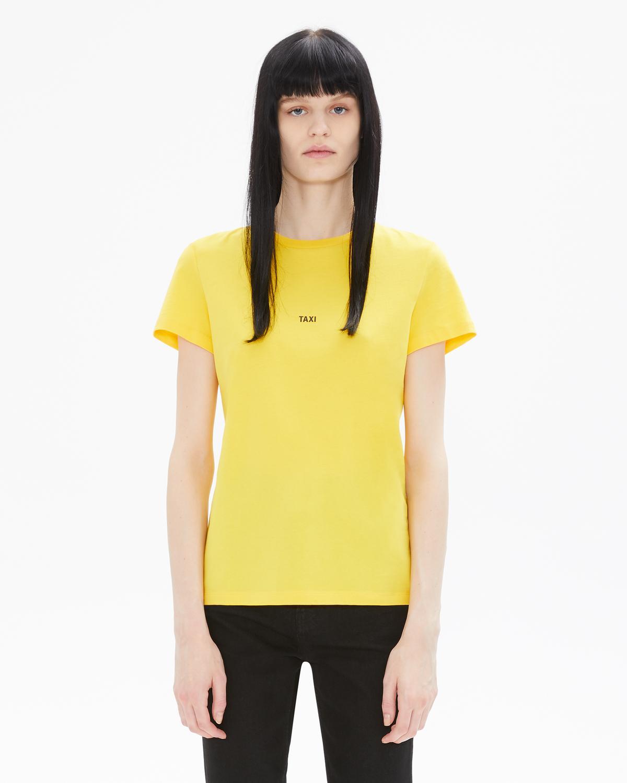 e90966ad6 Helmut Lang Women's Taxi Tshirt - New York Yellow | WWW.HELMUTLANG.COM