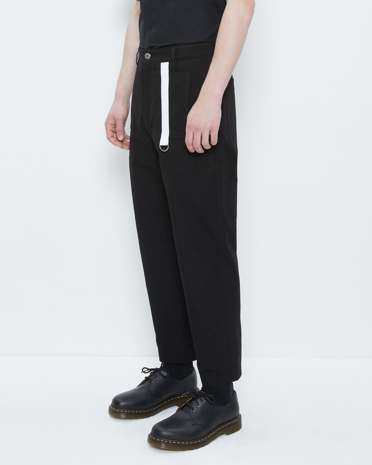 CROPPED CANVAS PANT