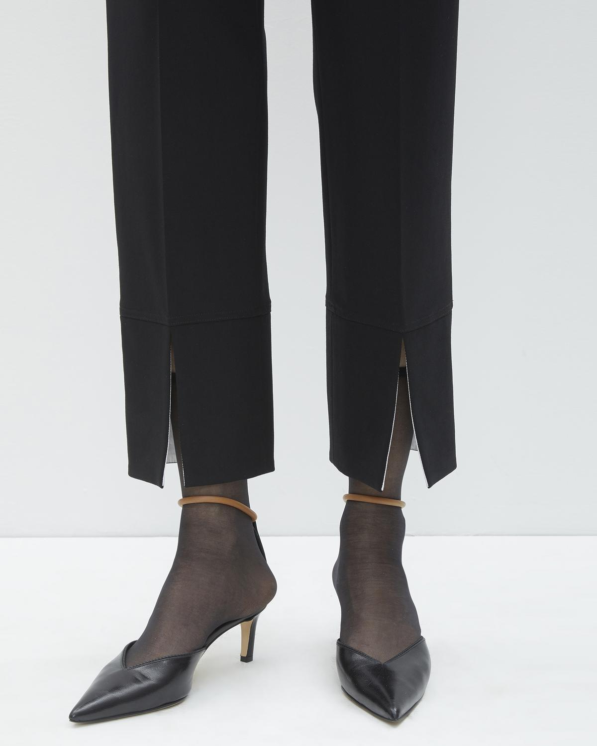 Front Slit Suit Pants