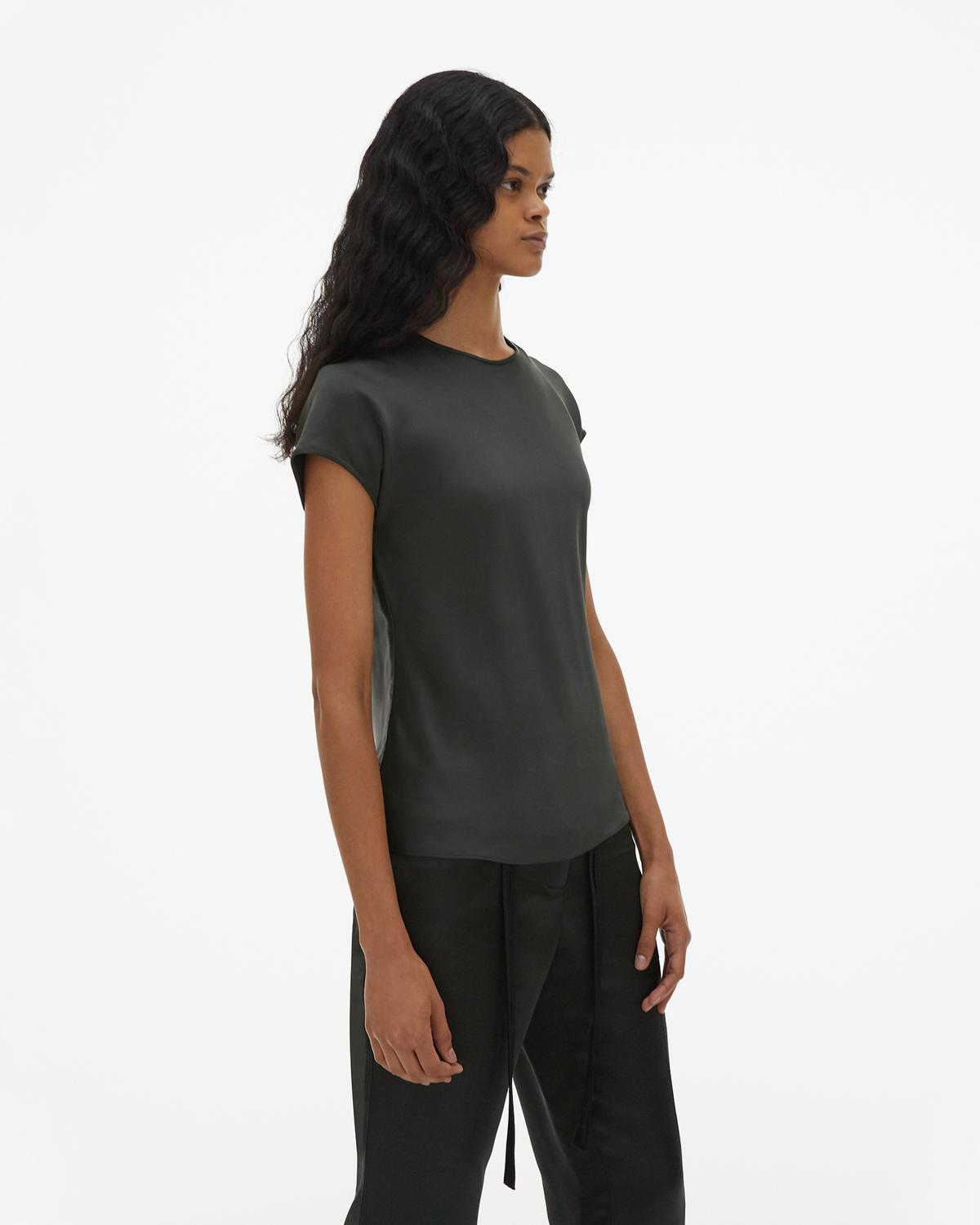 Viscose Cap Sleeve Top
