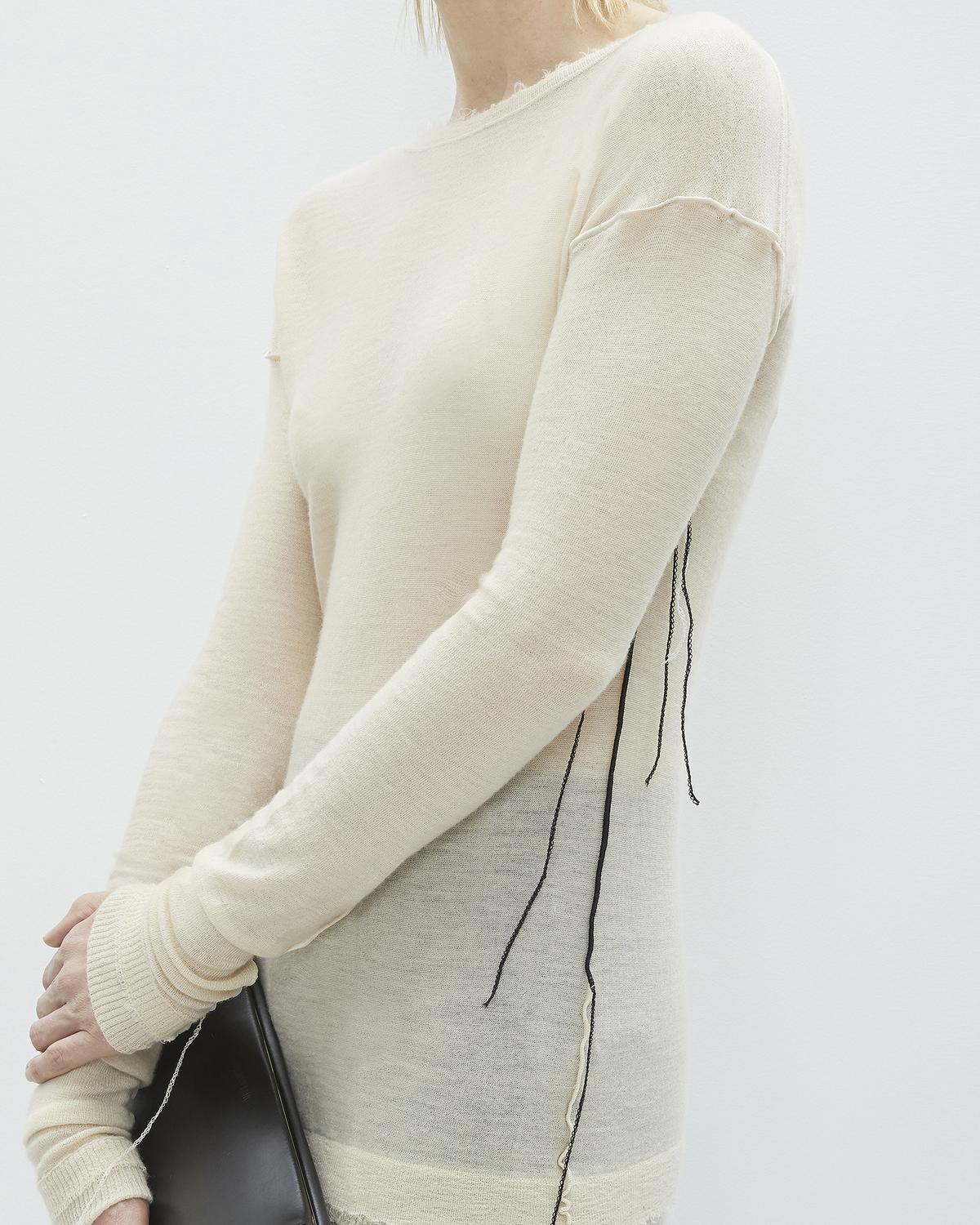 COVERSTITCH CREW NECK SWEATER