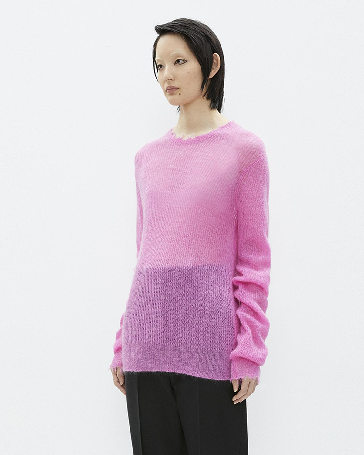 FEATHER WEIGHT MOHAIR SWEATER
