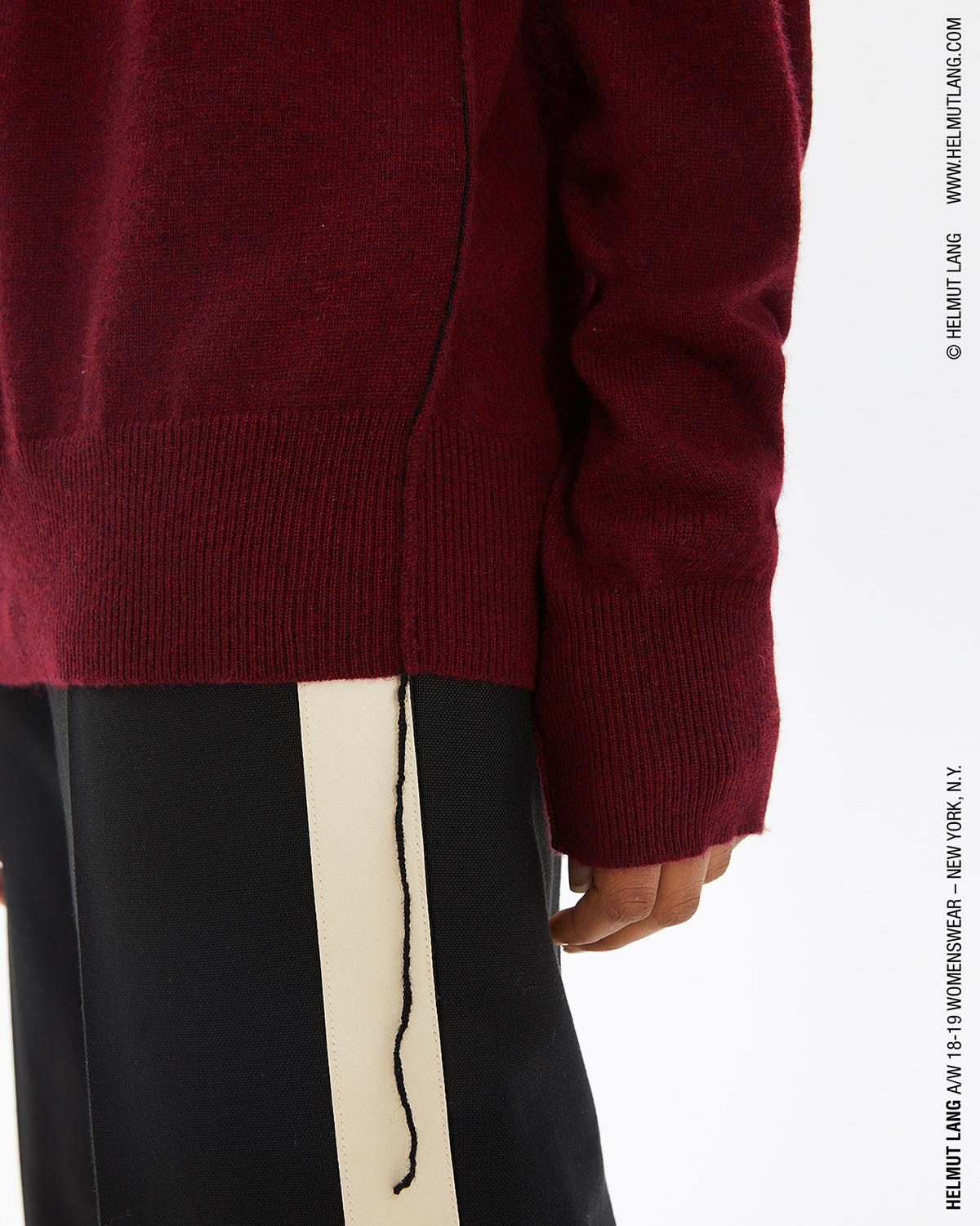 CASHMERE LONG SLEEVE CREWNECK