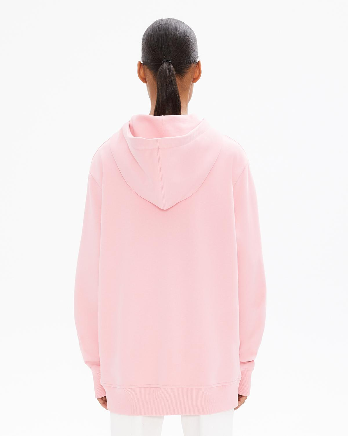 WOMEN'S JEREMY DELLER PATCH POCKET HOODIE