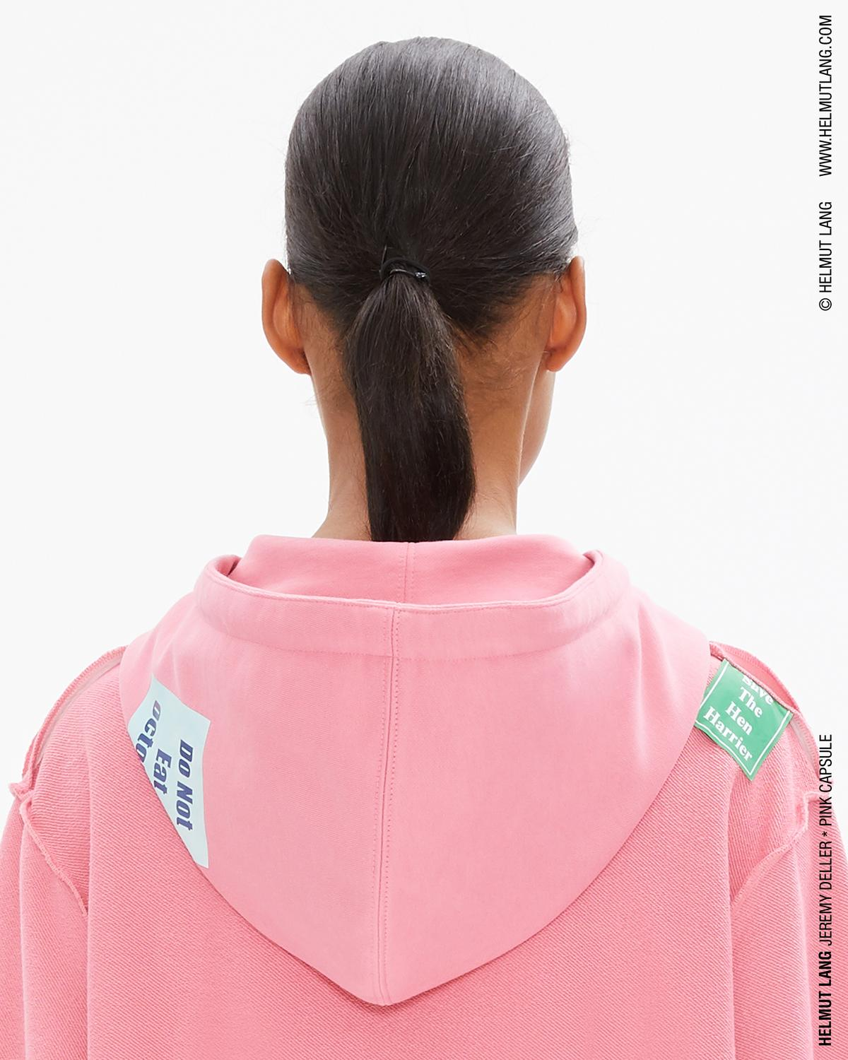 WOMEN'S JEREMY DELLER ZIP POCKET HOODIE